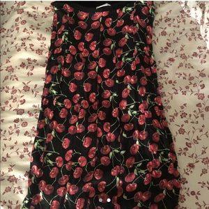 urban outfitters cherry dress